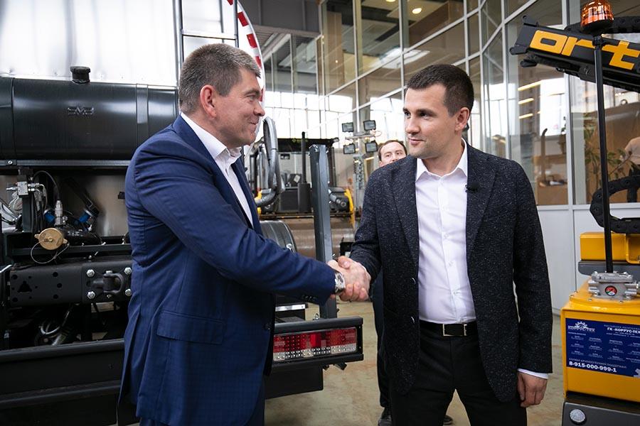Выездное совещание главы города Реутов в офисе ГКxA;xA;«КОРРУС-ТЕХ»